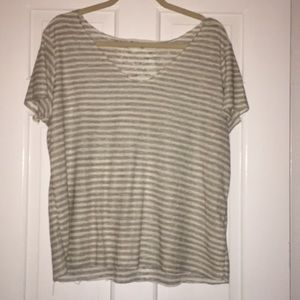 Urban Outfitters Tops - Urban outfitters project social stripped shirt